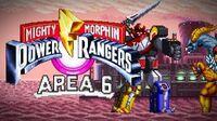 Mighty Morphin Power Rangers (SNES) - Area 6