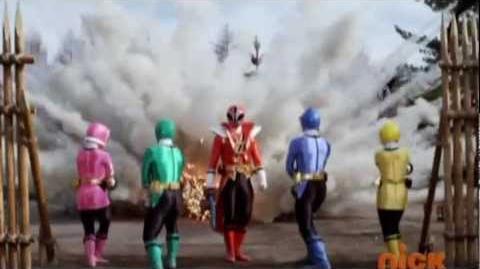 Power Rangers Samurai - Opening Theme 8