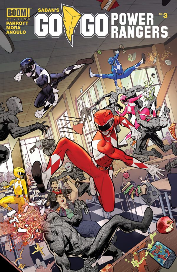 Go Go Power Rangers Issue 3