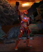 Legacy Wars Red Ranger 2017 Movie Victory Pose