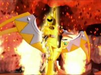 Yellow Dino Ranger Morph 2