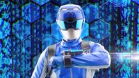 Blue Beast Morphers Ranger Morph 2