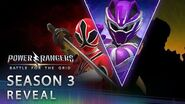 Power Rangers Battle for the Grid - Season Three Reveal