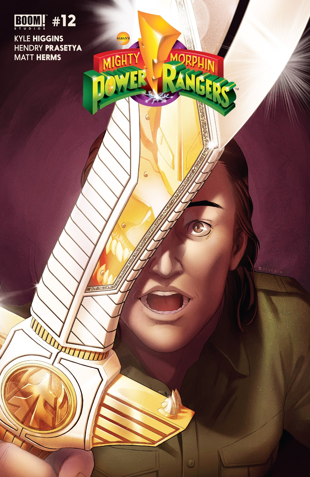 Mighty Morphin Power Rangers (Boom! Studios) Issue 12