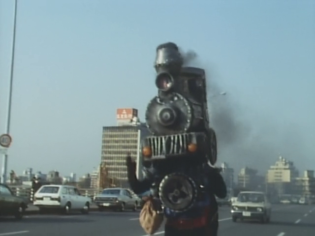 Ep. 46: Black Super Express! Locomotive Mask's Big Rampage