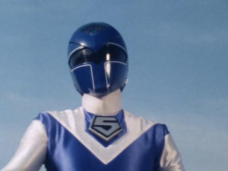 Blue Lightning Ranger