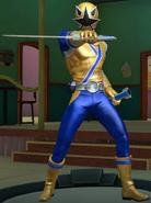 Gold Samurai Ranger in Legacy Wars