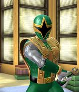 Legacy Wars Green Ninja Storm Ranger Victory Pose
