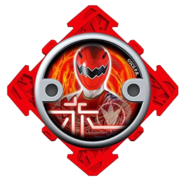 Dino Thunder Red Ninja Power Star (V2)