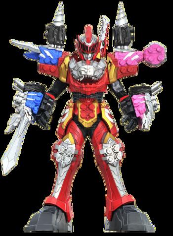 Dino Fury Megazord