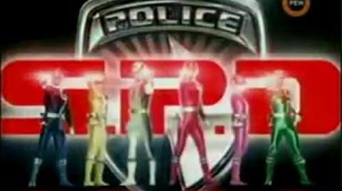 Могучие Рейнджеры Космический Патруль ДельтаPower Rangers Space Patrol Delta общий опенинг