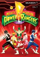 Mightymorphinpowerrangers dvd
