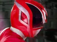 Red SPD Ranger Morph 1
