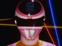Pink Space Ranger Morph 1
