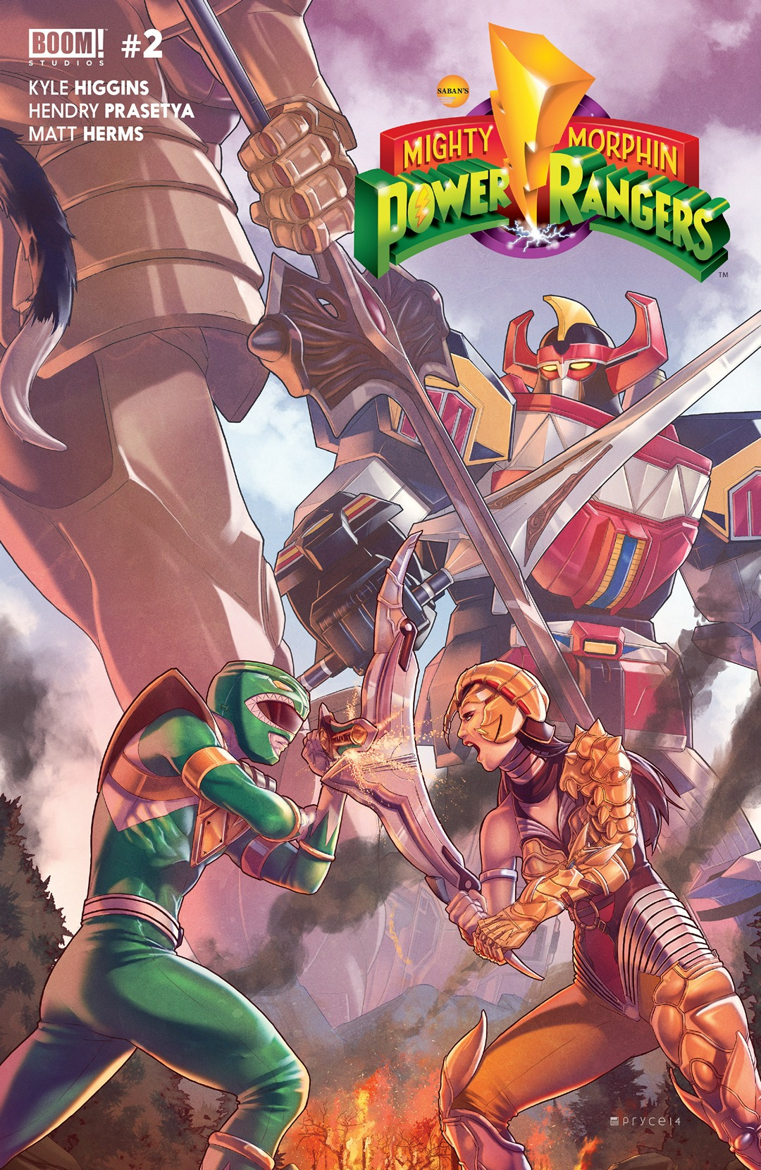 Mighty Morphin Power Rangers (Boom! Studios) Issue 2