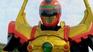 Power Rangers Operation Overdrive - Red Sentinel Ranger Battlizer Morph and Fight (Things Not Said)-0