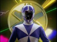 Blue Lightspeed Ranger Morph 2