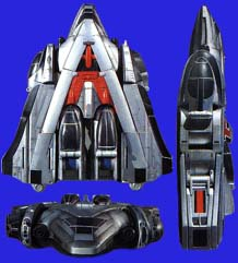 Comparison:3D Formation TimeRobo vs. Time Force Megazord