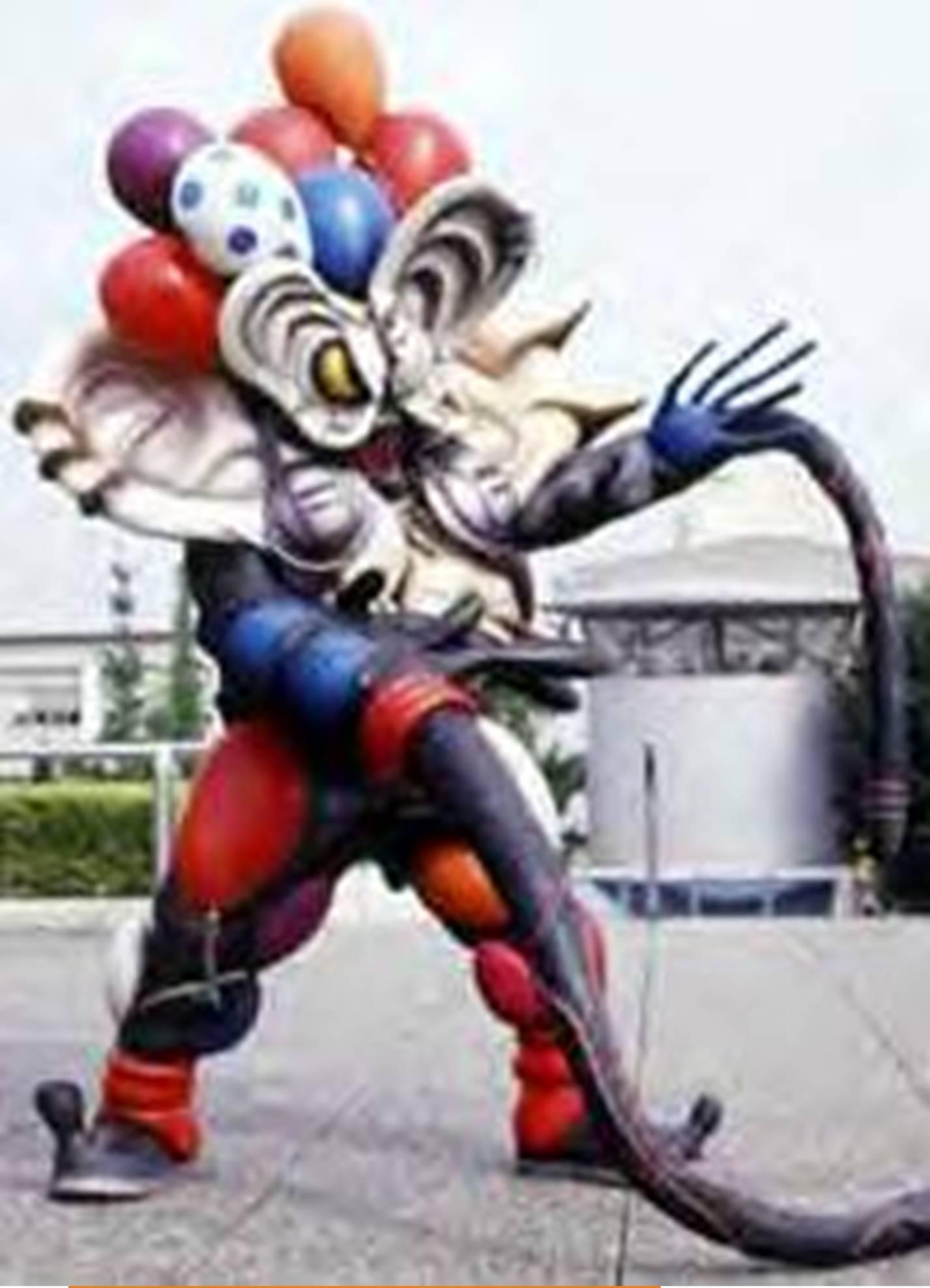 Balloon Ninja Gomubi-Ron