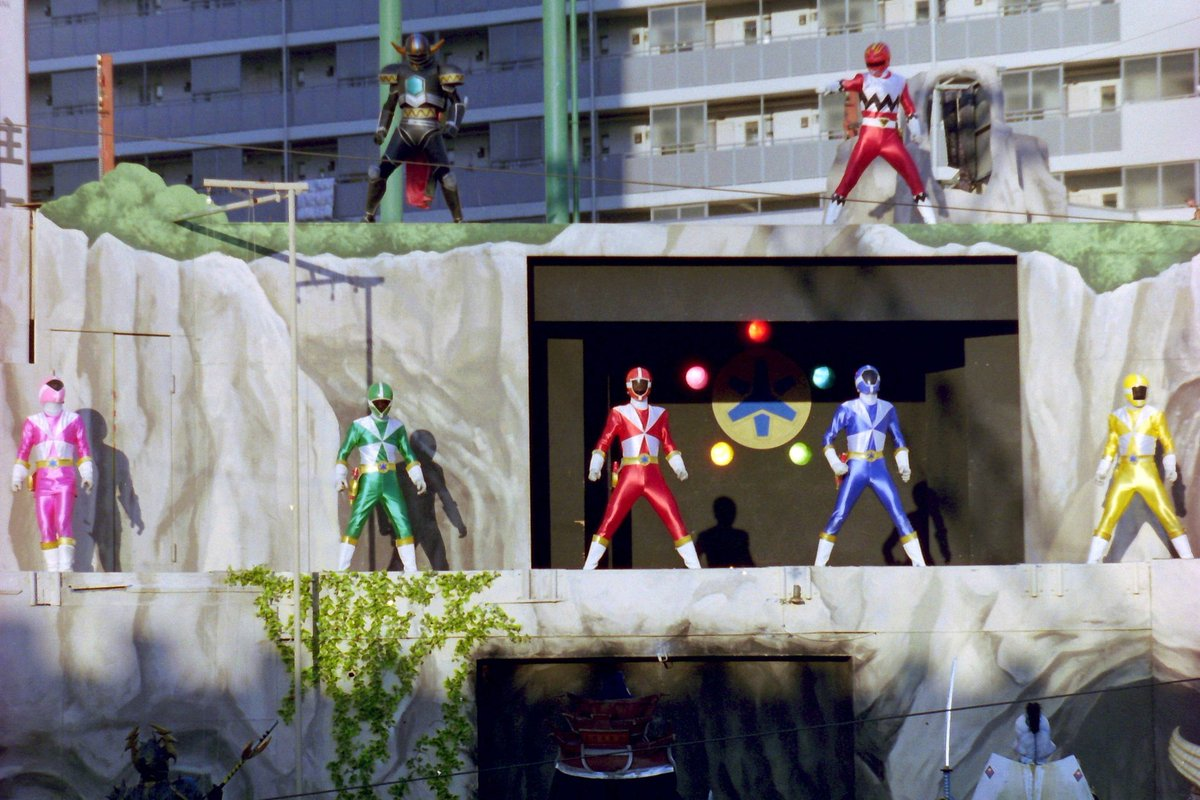 GoGoFive Stage Show at Return of Seijuu Sentai Gingaman Korakuen Yuenchi
