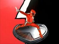 Red SPD Ranger Morph 2