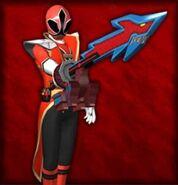 Hyper Shinken Red (Dice-O)