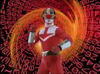 Red Time Force Ranger Morph 2