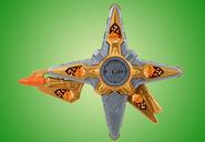 Gold Ninja Battle Morpher Blaster Mode