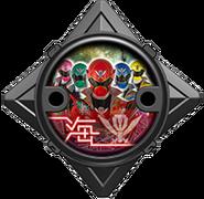 Super Megaforce Ninja Power Star (Black Version)