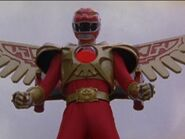 Red Ranger Battlizer Fight - Wings of Animaria - Wild Force - Power Rangers Official-2