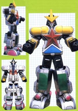 Comparison:Choju Gattai OhBlocker vs. Super Zeo Megazord