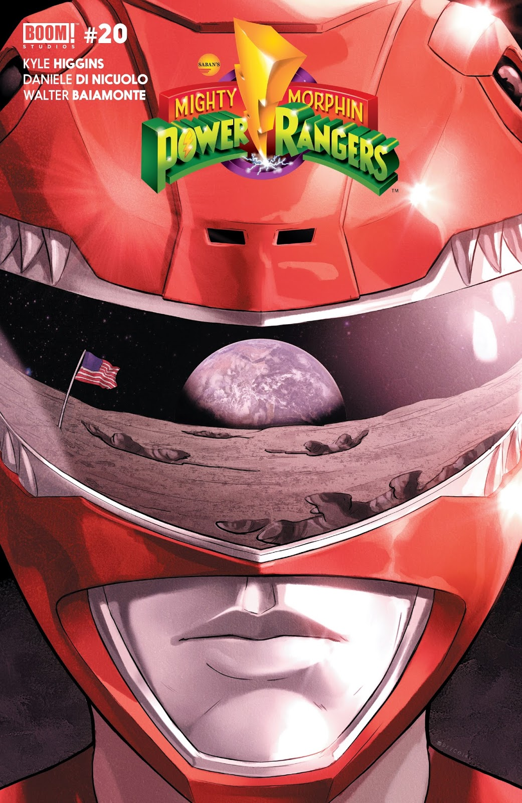 Mighty Morphin Power Rangers (Boom! Studios) Issue 20