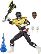 Mighty Morphin Black Ranger Armored Lightning Collection