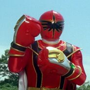 Red Mystic Ranger in Mystic Force Fighters