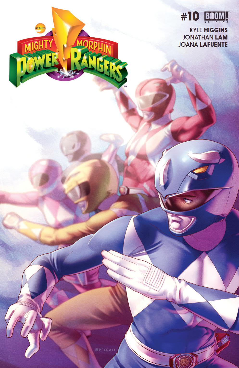 Mighty Morphin Power Rangers (Boom! Studios) Issue 10