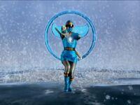 Blue Ninja Storm Ranger Morph 2