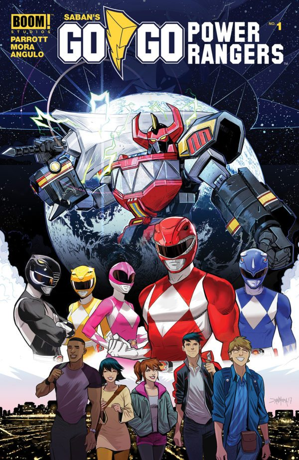 Go Go Power Rangers Issue 1
