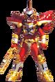 Red Battle Warrior