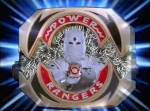 White Ninja Ranger Morph