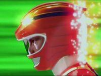 Red Wild Force Ranger Morph 2