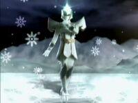 White Mystic Ranger Morph 2