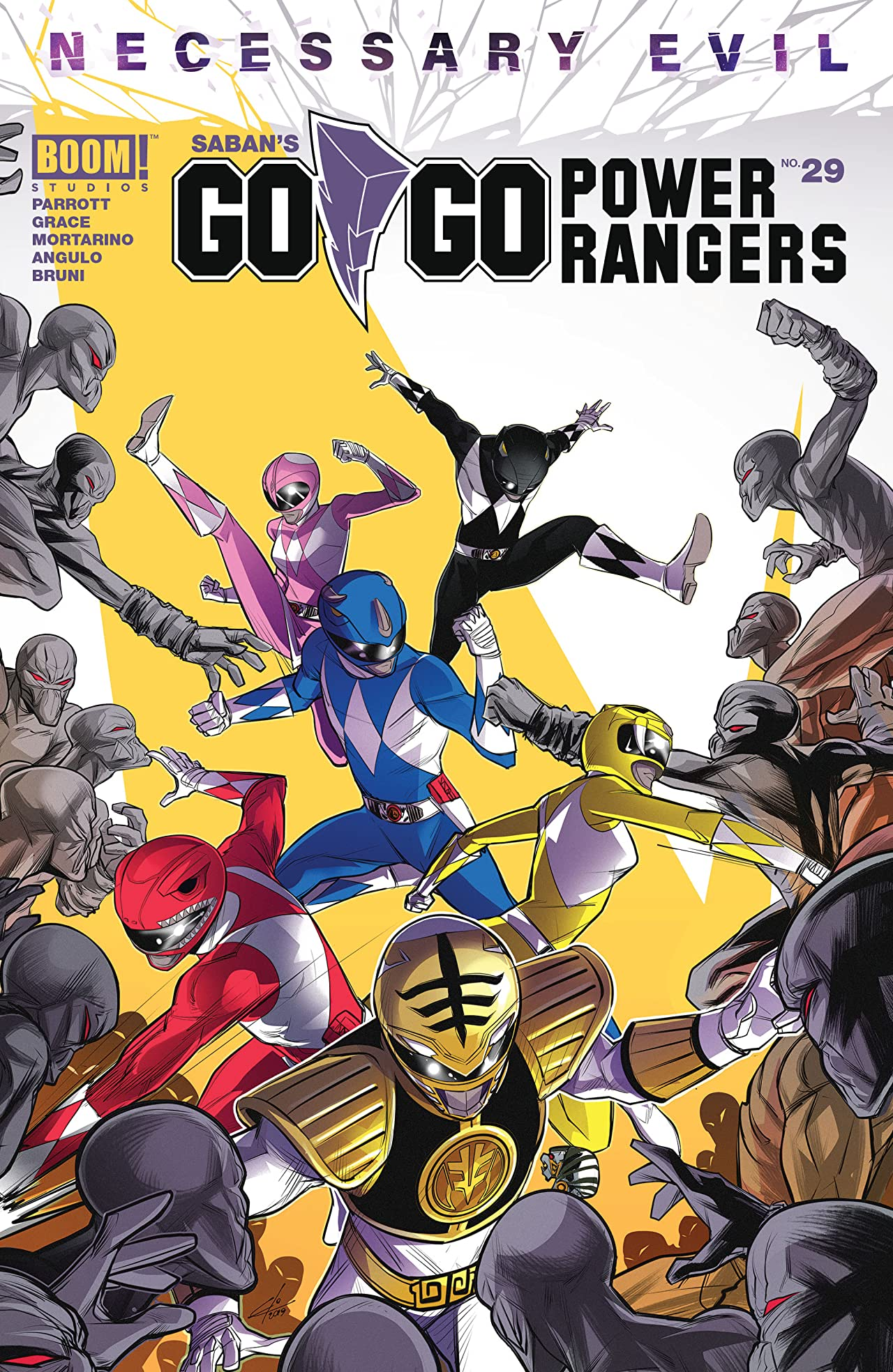 Go Go Power Rangers Issue 29