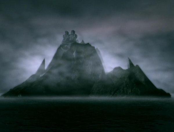 Mesogog's Island Fortress