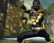 Legacy Wars Black Dino Thunder Ranger Victory Pose
