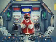 Dynaman Red cockpit