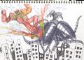 MSK-Robot Fighting Sketch