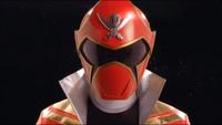 Red Super Megaforce Ranger Morph 2