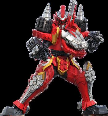 T-Rex Champion Zord Battle Mode