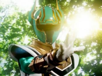 Green Legend Warrior