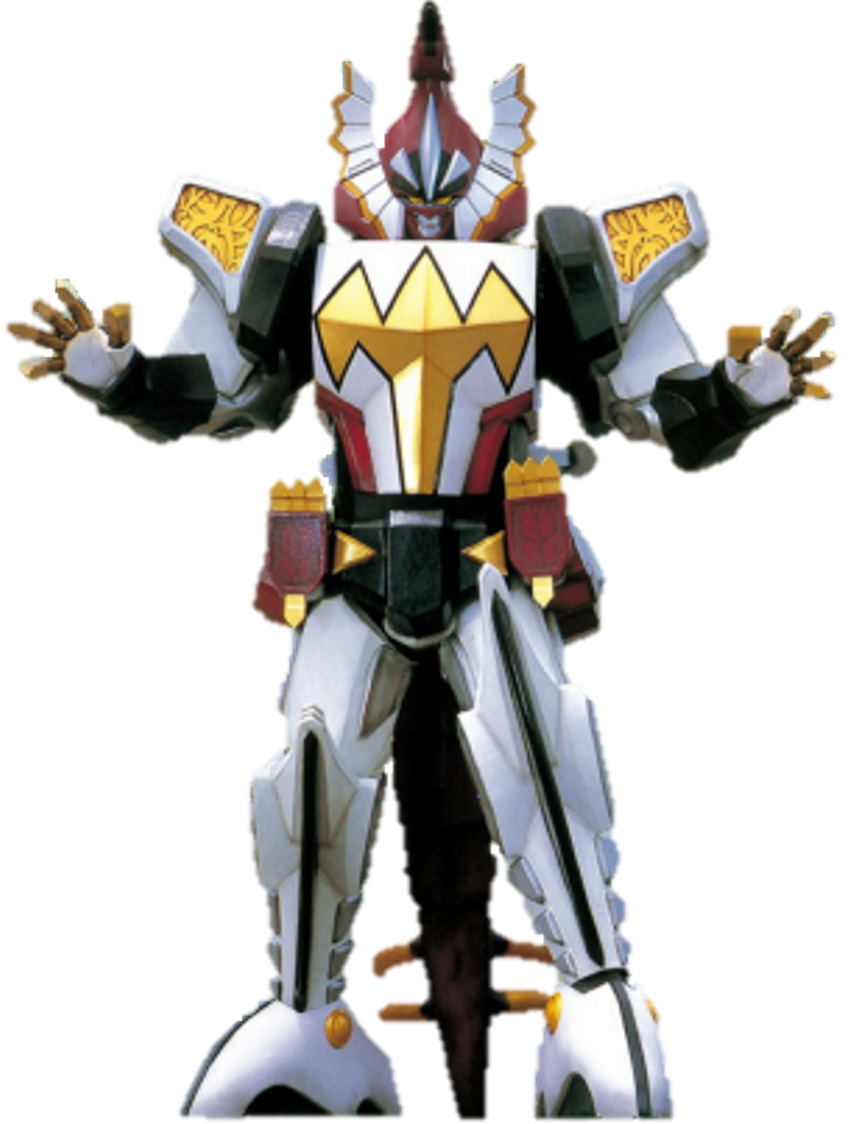 Power Rangers Dino Thunder Bakuryu Sentai ABARANGER white ranger drago Zord